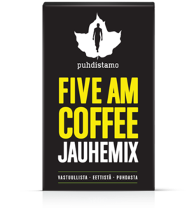 FIVE AM COFFEE Jauhemix 150g - Kahvit - 6430039221840 - 1