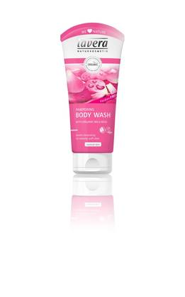 Lavera Pampering Body Wash, 200 ml - Saippuat ja suihkugeelit - 4021457615490 - 1