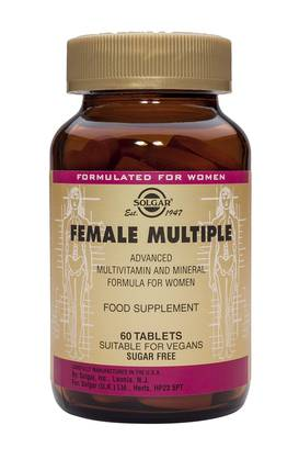 Female Multiple 60tbl. - Monivitamiinit - 0033984010741 - 1