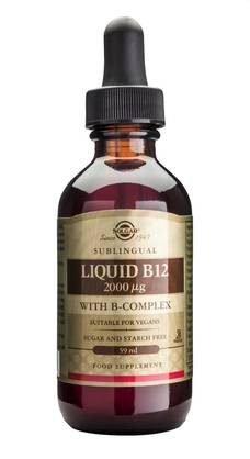 Liquid B-12 2000mcg  +b-complex 59ml - B-vitamiinit - 0033984015951 - 1