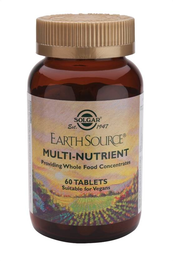 Earth Source Multi-nutrient 90tbl. - Monivitamiinit - 0033984010291 - 1