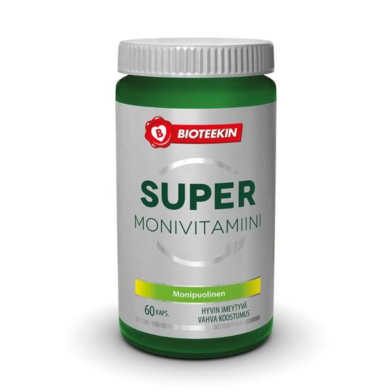 SUPER Monivitamiini, 60kps - Monivitamiinit - 6413620113601 - 1