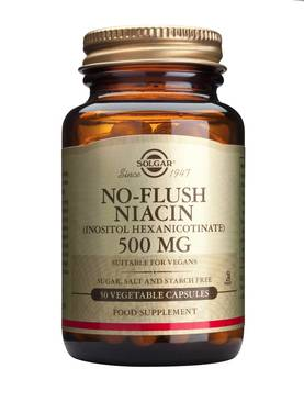 No-Flush Niacin 50kaps - B-vitamiinit - 0033984019102 - 1