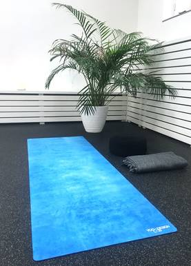 Yogamat Travel Mat 1mm Aegean Blue - Treenivarusteet - 646648208172 - 1