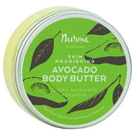 Nurme Skin Nourishing Avocado Body Butter 200ml - Vartalovoiteet - 4742763003633 - 1