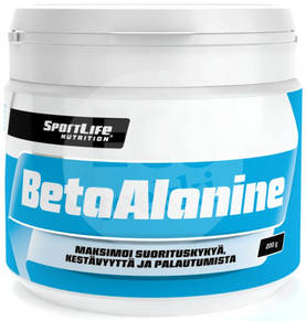 SportLife Nutrition Beta-Alanine 200g - Aminohapot - 6430018360713 - 1