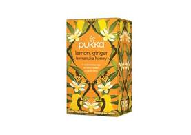 PUKKA Lemon,Ginger&Manukahunaja 20pss - Teet - 5060229011534 - 1
