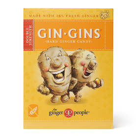 Gin-Gins Double Strenght Hard Candy 84g - Makeiset - 0734027971035