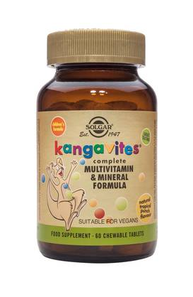 Kangavites® Tropical Punch 60tbl. - Monivitamiinit - 0033984010185