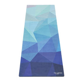 Yogamat Travel Mat 1mm Geo Blue - Treenivarusteet - 0646648208035 - 1