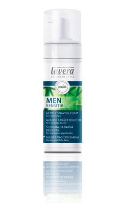 Lavera Men Sensitiv Gentle Shaving Foam, 150 ml - Parranajo - 4021457605866 - 1
