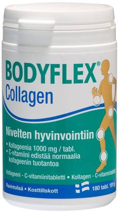 Bodyflex Collagen 180 tabl - Niveltuotteet - 6428300001208 - 2