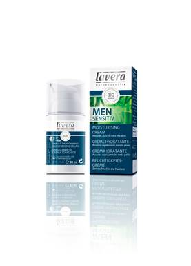 Lavera Men Sensitiv Moisturising Cream, 30 ml - Kasvovoiteet - 4021457605859 - 1